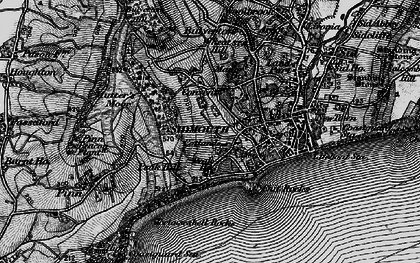 Old map of Windgate in 1897