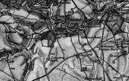 Old map of Avening Court in 1897