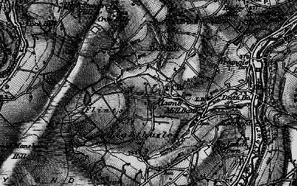 Old map of Baitings Pasture in 1896