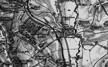 Old map of Alcester Lodge in 1898