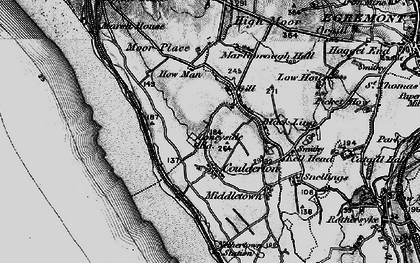 Old map of Ashley Grove in 1897