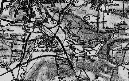 Old map of Auckland Park in 1897