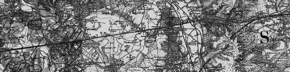 Old map of Cove in 1895