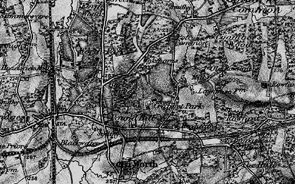 Old map of Ley House in 1895