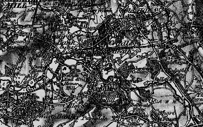 Old map of Cradley Heath in 1899