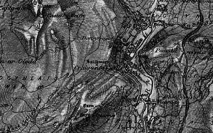Old map of Craig-y-nos in 1898