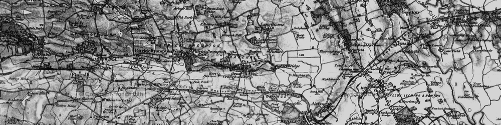 Old map of West Pasture in 1897
