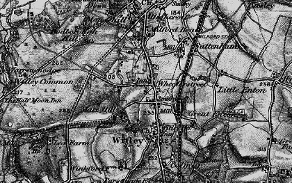 Old map of Witley Common in 1896