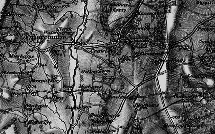 Old map of Wildway Ho in 1898