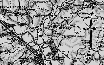Old map of Woolney Hall in 1898