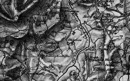 Old map of Worsley Trail in 1895