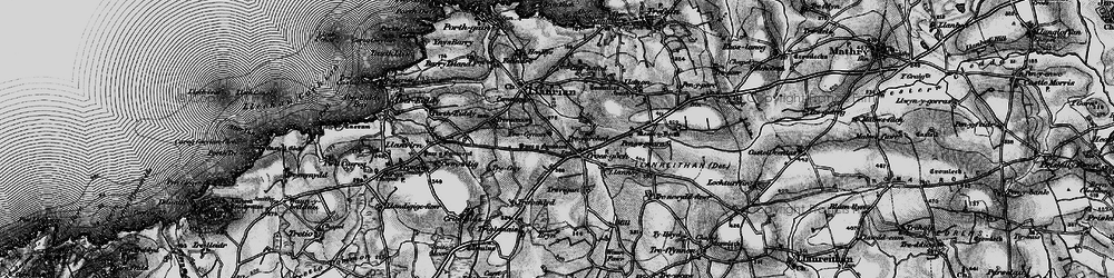 Old map of Croes-goch in 1898