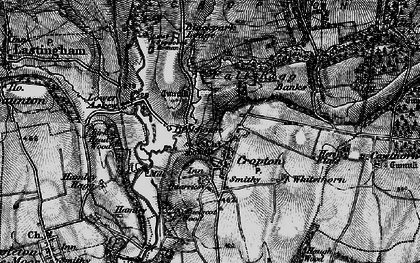 Old map of Cropton in 1898