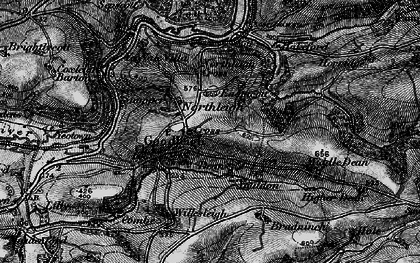 Old map of Youlden Ho in 1898