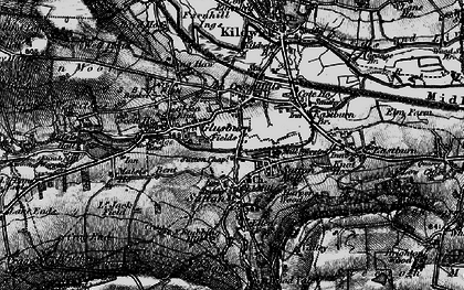 Old map of Ling Haw Hill in 1898