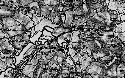 Old map of Crossgates in 1898