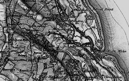 Old map of Wyke Lodge in 1897