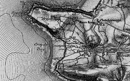 Old map of Baggy Point in 1897