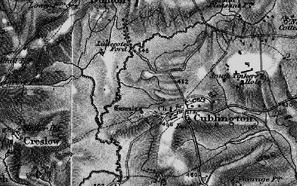 Old map of Cublington in 1896