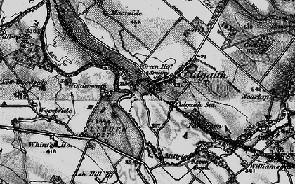 Old map of Whinfell Ho in 1897