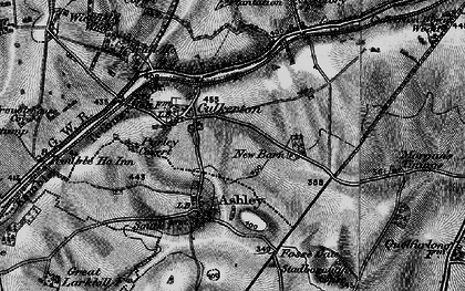 Old map of Wickfield Wood in 1896
