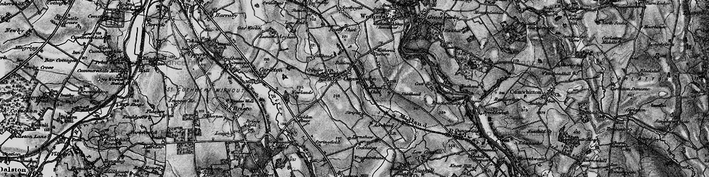 Old map of Wetheral Shield in 1897