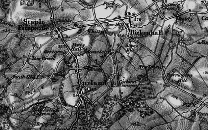 Old map of Whitty in 1898