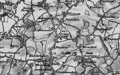 Old map of Apsley in 1895