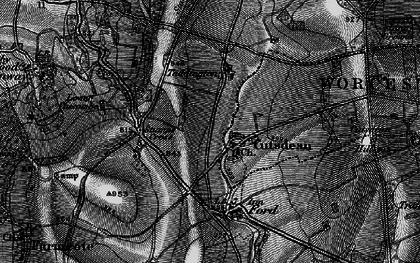 Old map of Cutsdean in 1896