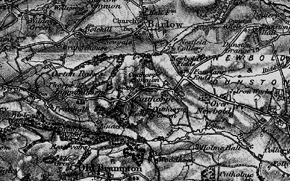 Old map of Woodnook in 1896