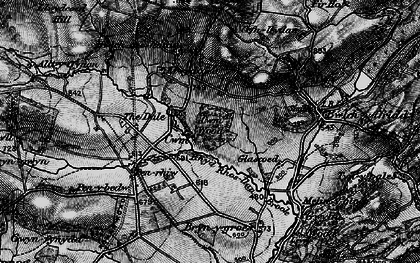 Old map of Alltyffynnon in 1899
