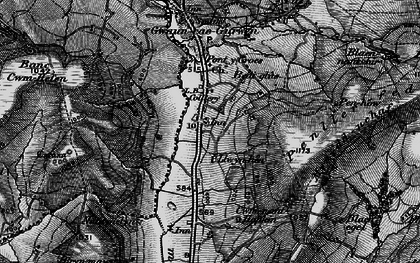 Old map of Bancbryn in 1897