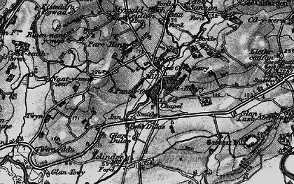 Old map of Whitlera in 1898
