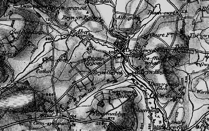 Old map of Alltgoch in 1898