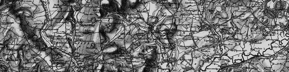 Old map of Alltgoch in 1898
