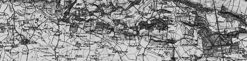 Old map of Witherholme Hall in 1898