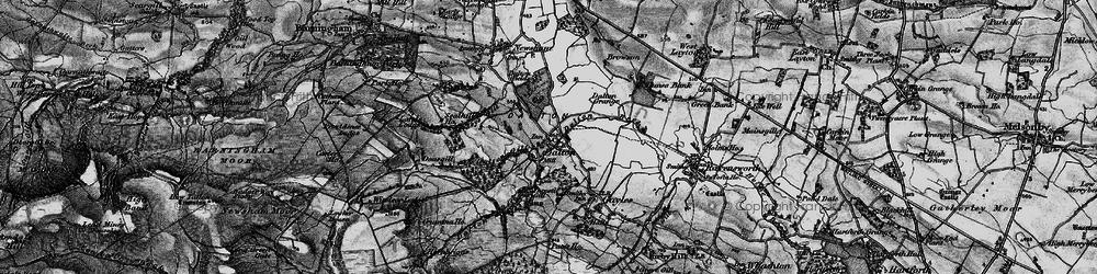 Old map of Dalton in 1897