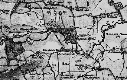 Old map of Windy Walls in 1897