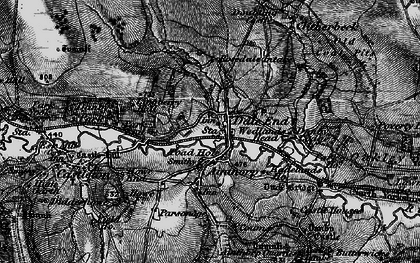 Old map of Danby in 1898