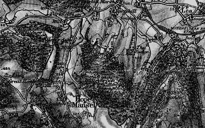 Old map of Baileybrook in 1896