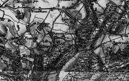 Old map of Acorn Cott in 1895