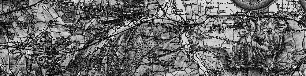 Old map of Dartford in 1895