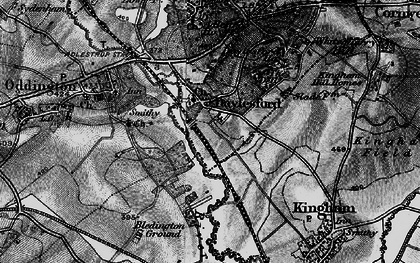 Old map of Daylesford in 1896