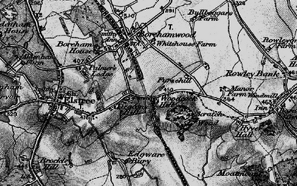 Old map of Woodcock Hill in 1896