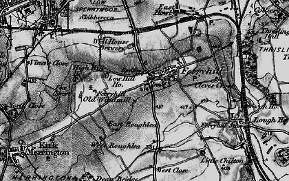 Old map of Skibbereen in 1897