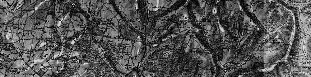 Old map of Idsworth in 1895