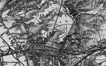 Old map of Deepcut in 1895