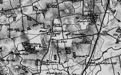 Old map of Wray Ho in 1898