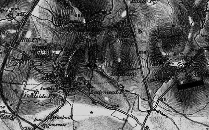 Old map of Denham in 1896