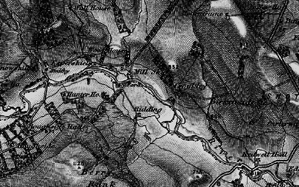 Old map of Winnowshill in 1898